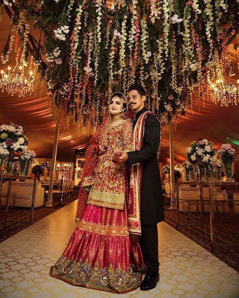 Picture of Aruba & Taha look royal styled by the perfectionist Nomi Ansari