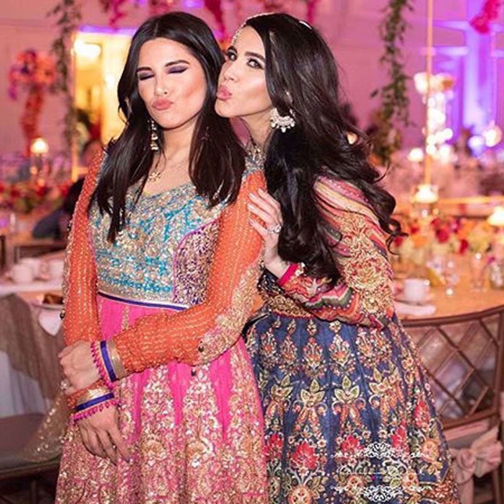 Picture of FAVOURITE GIRLS IN CHICAGO SUNNY & ABIHA WEARING NOMI ANSARI