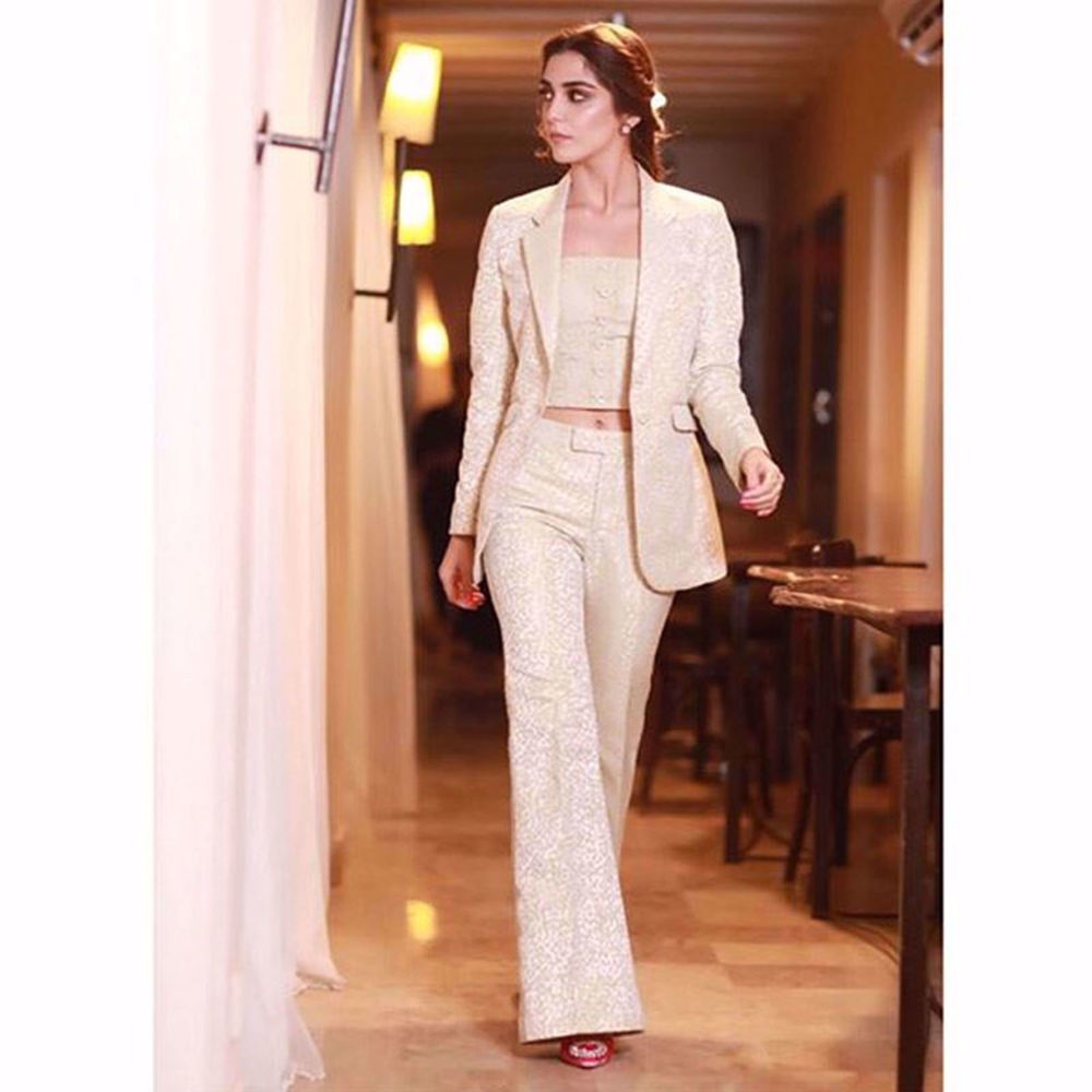 Picture of MAYA ALI LOOKS ABSOLUTELY BREATHTAKING IN THIS NOMI ANSARI MASTERPIECE