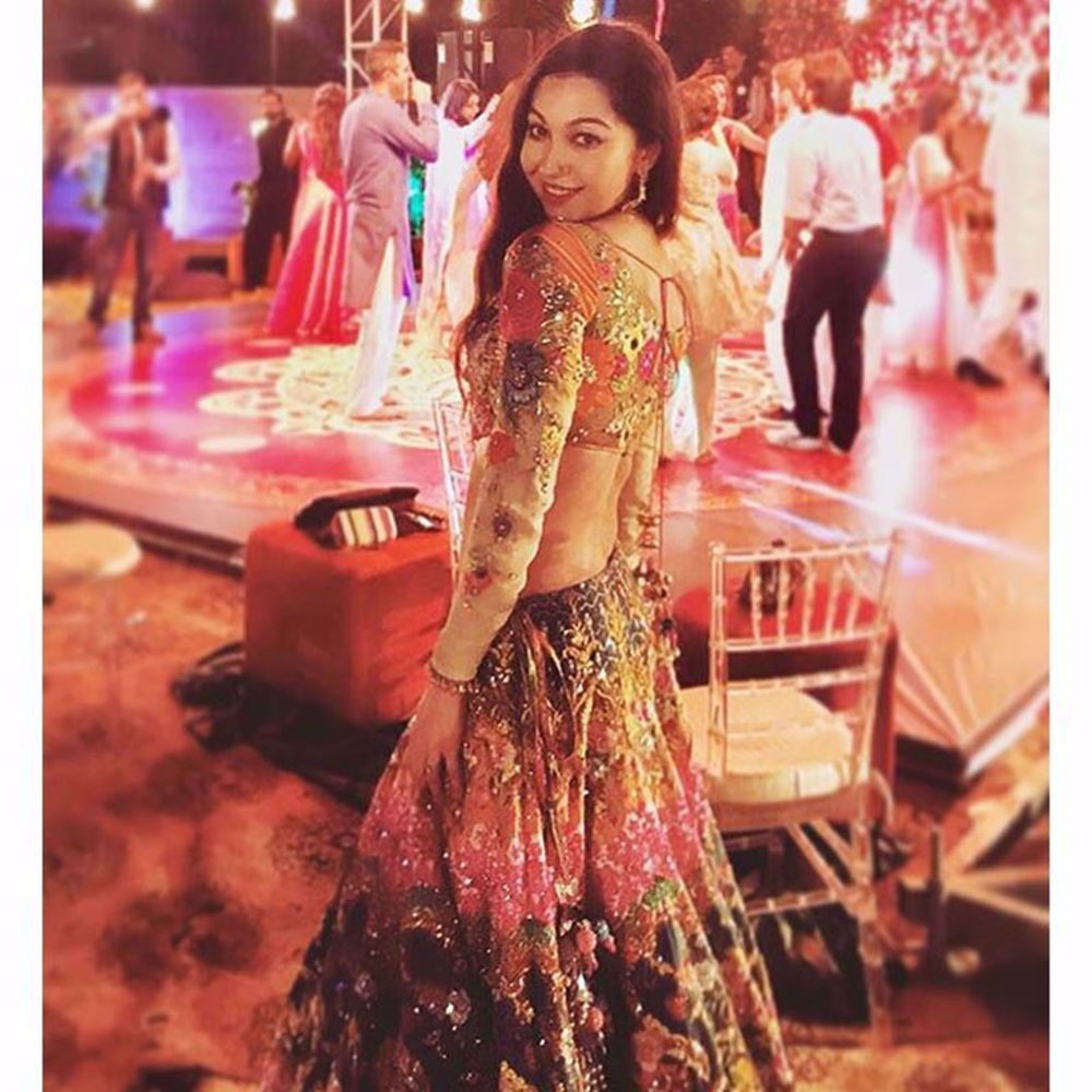 Picture of RUBYA CHOUDHERY DAZZLES IN OUR FAVOURITE LEHENGA