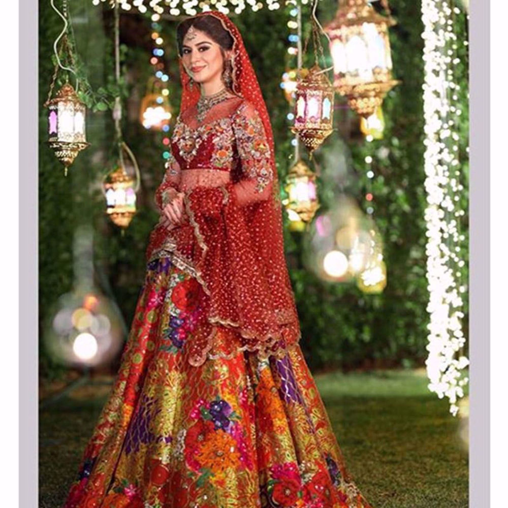 Picture of SEHER MIRZA LOOKING GORGEOUS IN CUSTOM VIVID CORAL