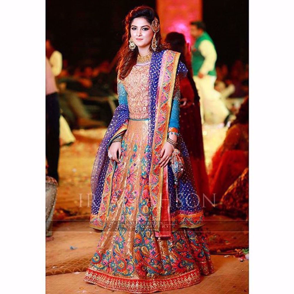 Picture of RABIA WAHEED IN CUSTOM CHAMPAGNE