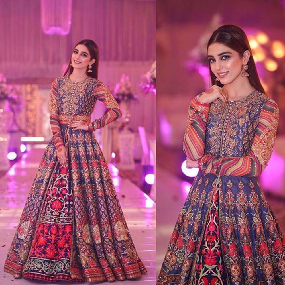 Picture of THE GORGEOUS MAYA ALI IN NAURATTAN