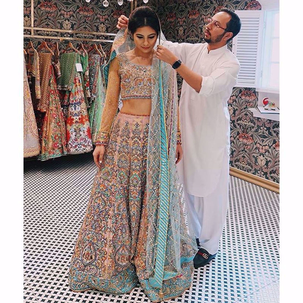Picture of BRIDAL FITTING OF MARJHAN KAUSAR