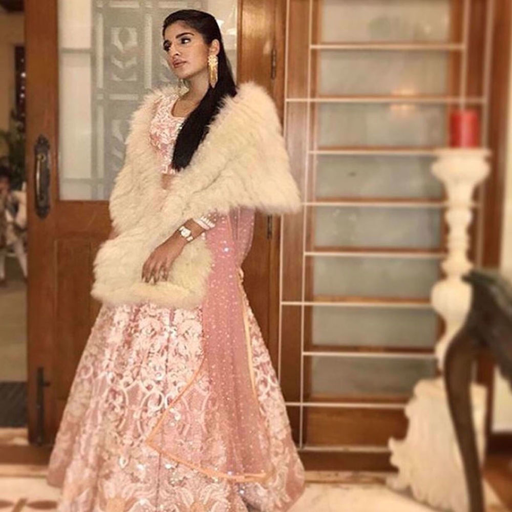 Picture of SUHANA J BAIG IN A NOMI ANSARI COUTURE