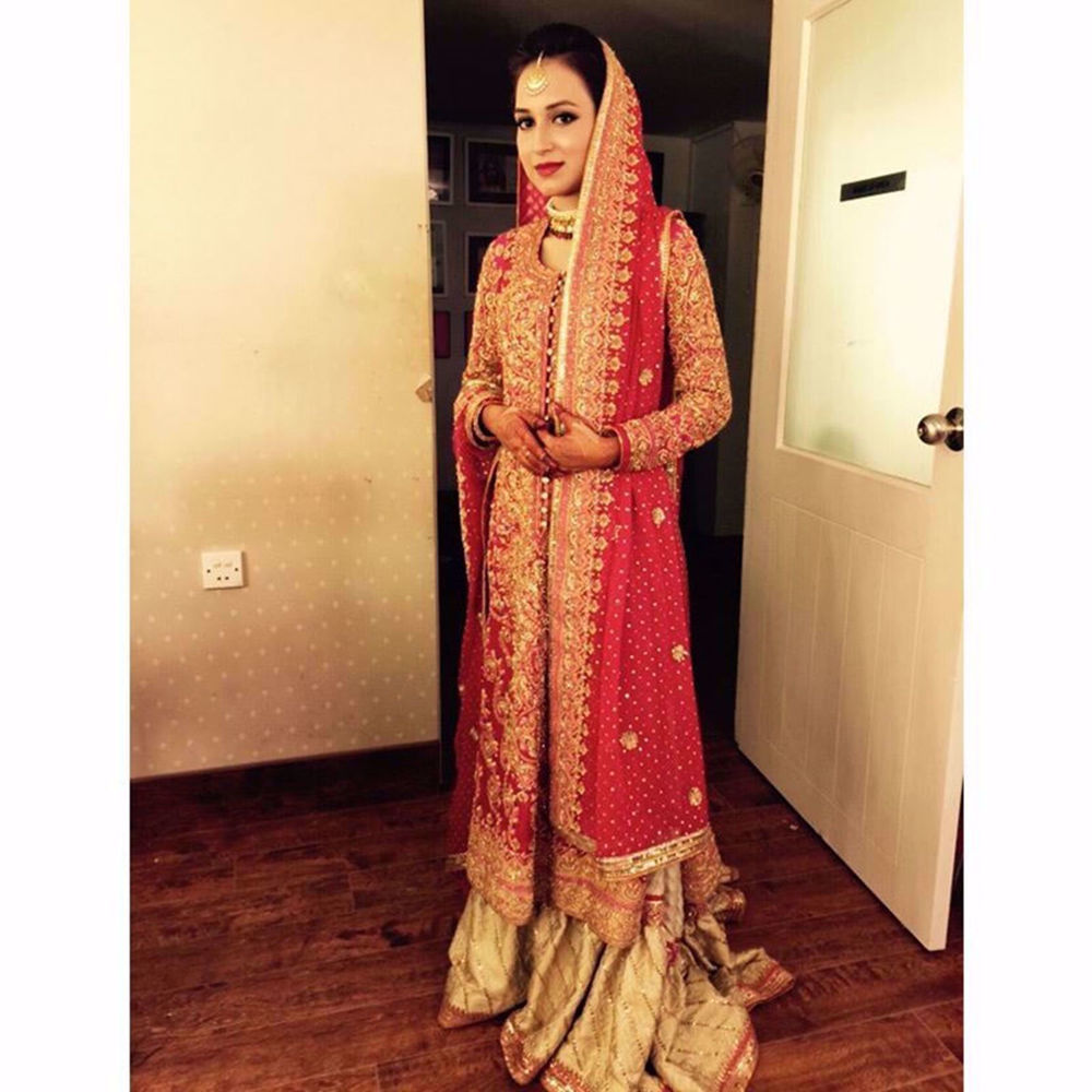 Picture of GORGEOUS BRIDE IN THIS CUSTOM BRIDAL