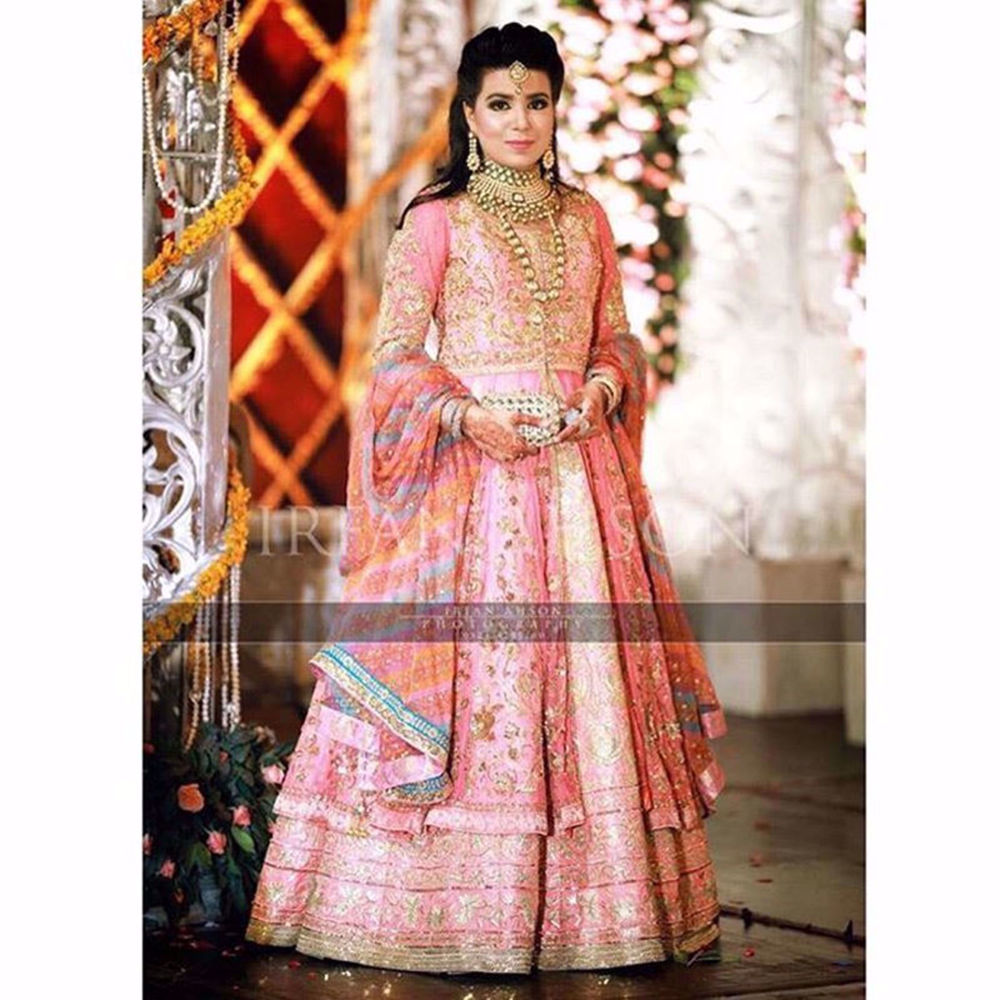 Picture of MAHAM AHMAD IN PINK ANARKALI (2)