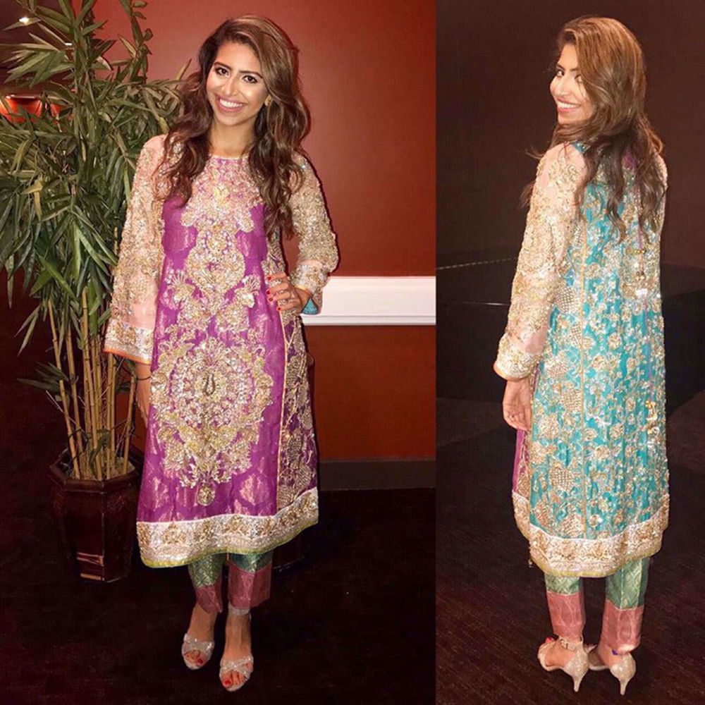 Picture of MASOOMA ALAM LOOKING STUNNING IN AUBERGINE