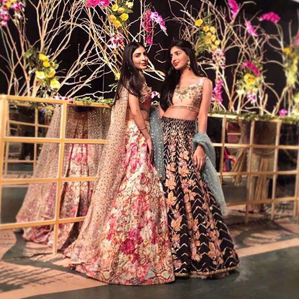 Picture of ImanBaig and #SuhanaBaig exude beauty in exquisite ensembles by #NomiAnsari