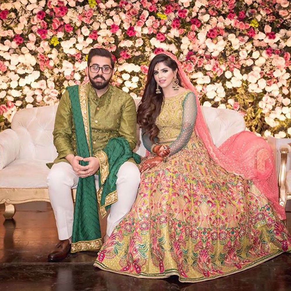 Picture of MoeezFazal and #AmnaFazal are the perfect picture of pure beauty and ageless elegance in #NomiAnsari ensembles