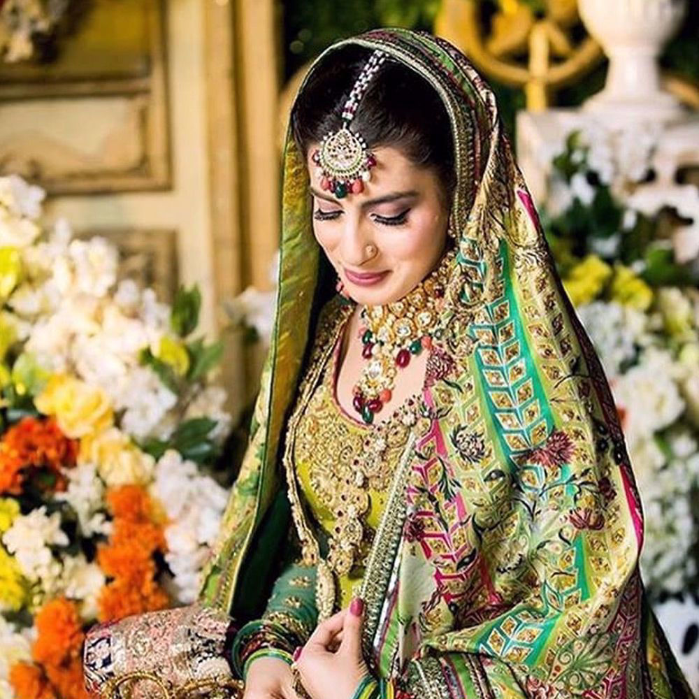 Picture of Uzma Mamoon wears #nomiansari in #Bangladesh ,we re loving the look on this gorgeous bride