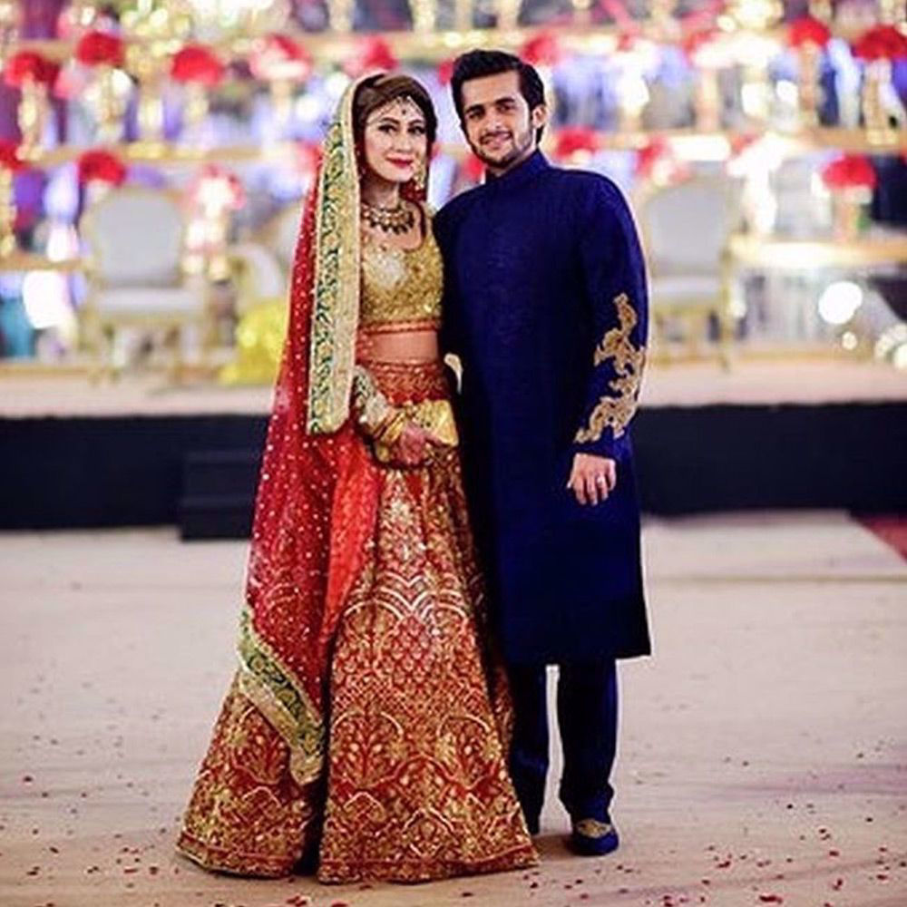 Picture of Wedding wear signature piece by Nomi Ansari