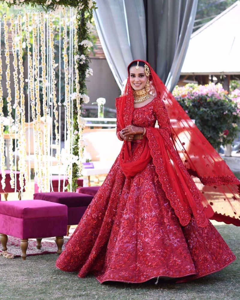 Picture of BRINGING THE LOOK WE HAD IN MIND FOR IQRA AZIZ TO LIFE WAS A ONE-OF-KIND EXPERIENCE THAT WE ENJOYED THOROUGHLY!