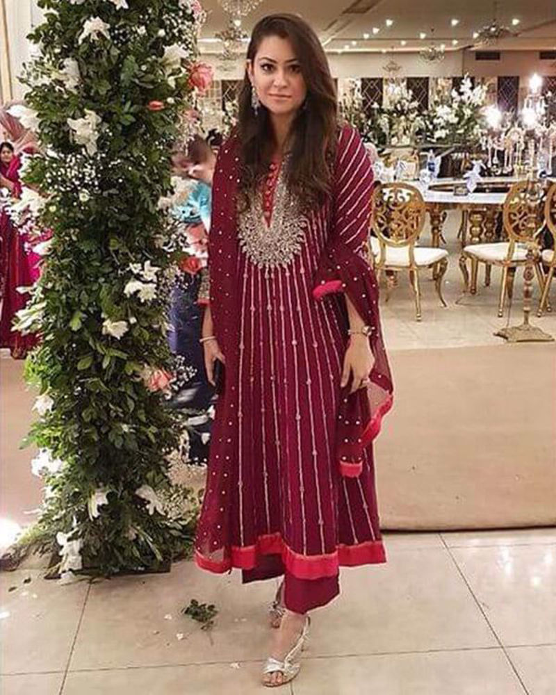 Picture of Sunaina Puri in one of our embellished formals
