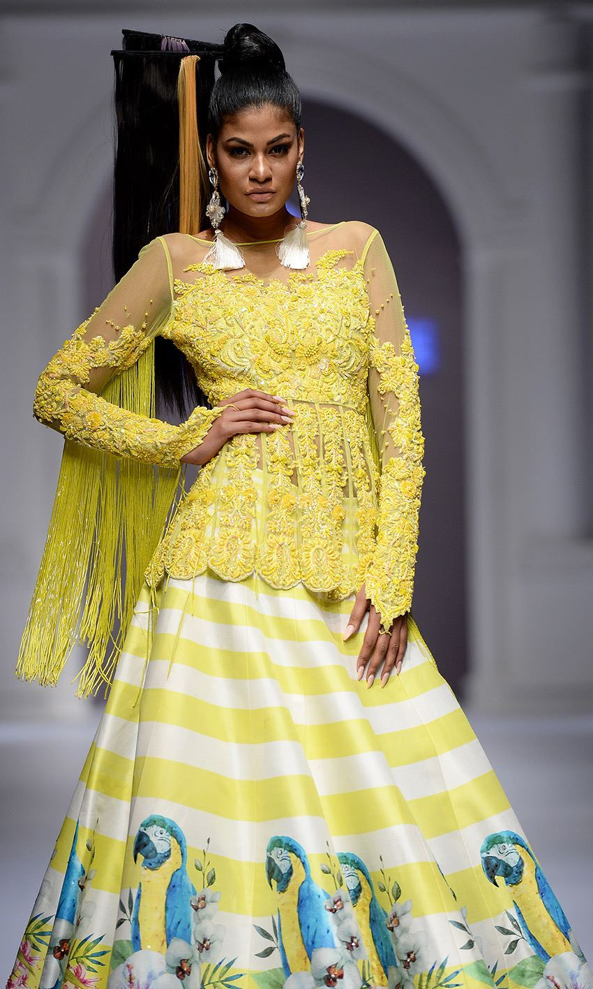 Picture of Yellow flamenco