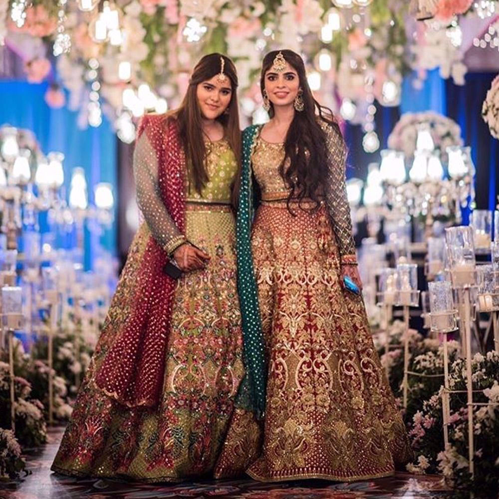 Picture of Client in this ravishing wedding wear by Nomi Ansari